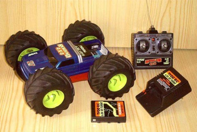 Tyco Rebound 4x4 RC Buggy juguete clásico