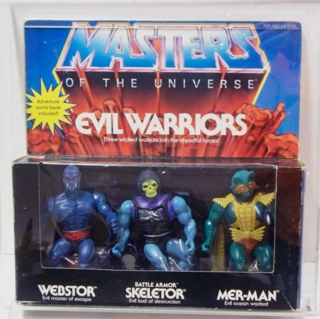 juguete tradicional de los villanos de He-Man