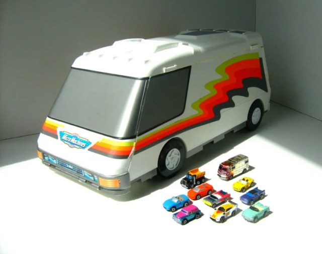 micro machines van city un juguete costoso hoy endía