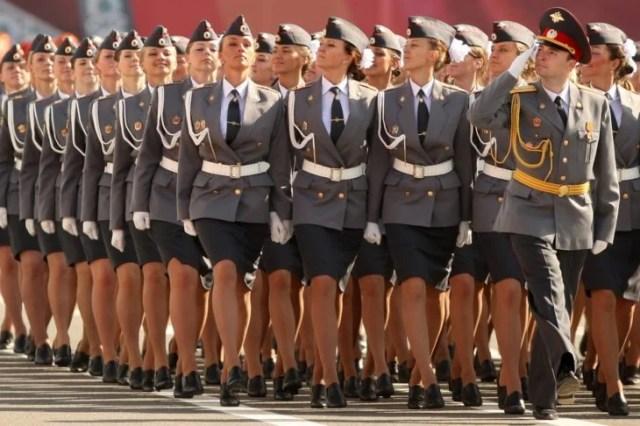 cuerpo policial femenil de rusia