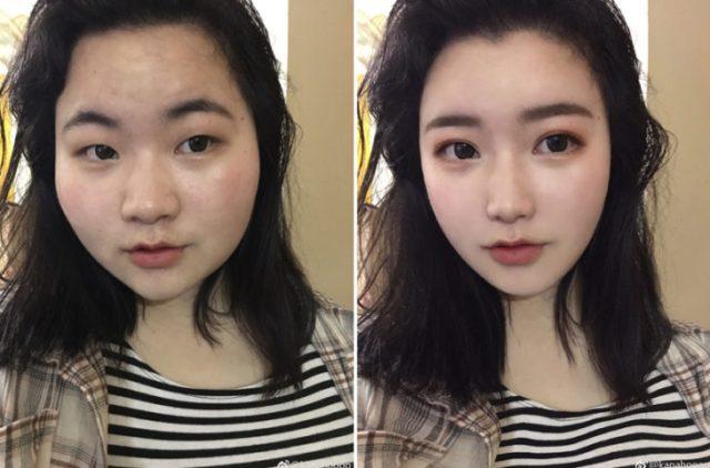 selfie mujer instagram truco photoshop