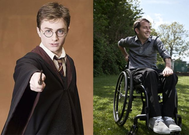 harry poter doble incidente paraplejico