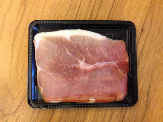 paquete de carne que semeja que ésta distorsionado