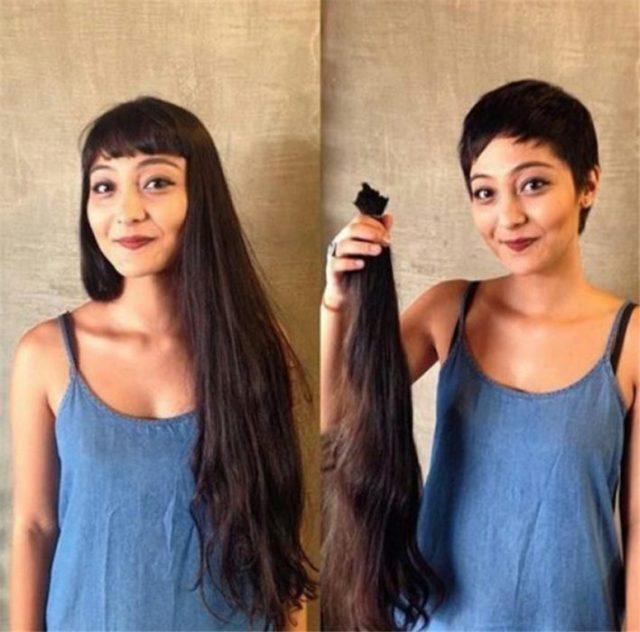 Mujer con pelo largometraje se lo corta