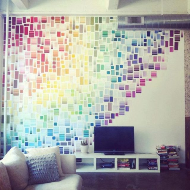 Pared de colores