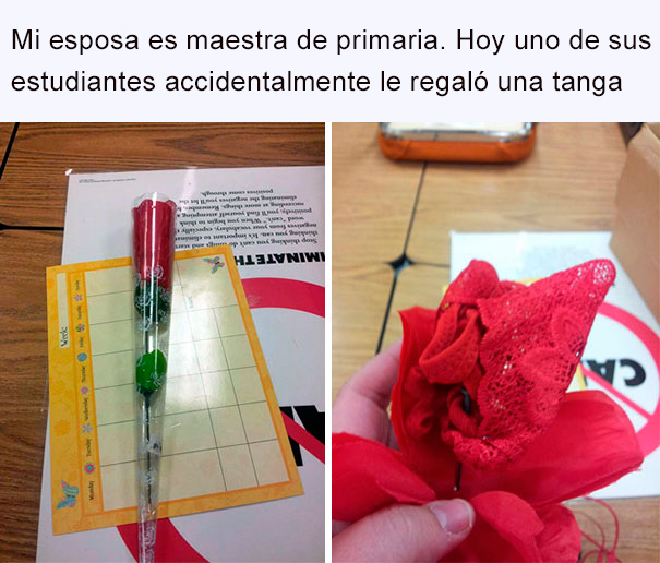 flor con una tanga
