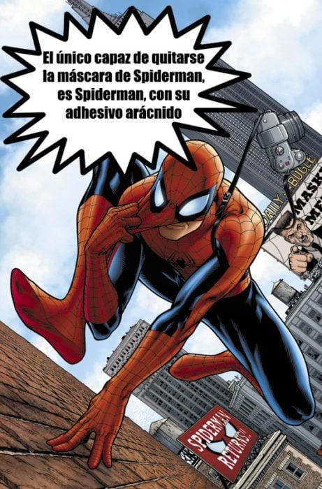 spiderman cosmos marvel datos curiosos superhéroes