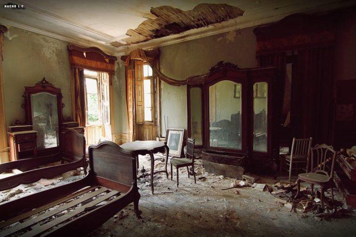 Lugares abandonados en los que parece que el tiempo no ha