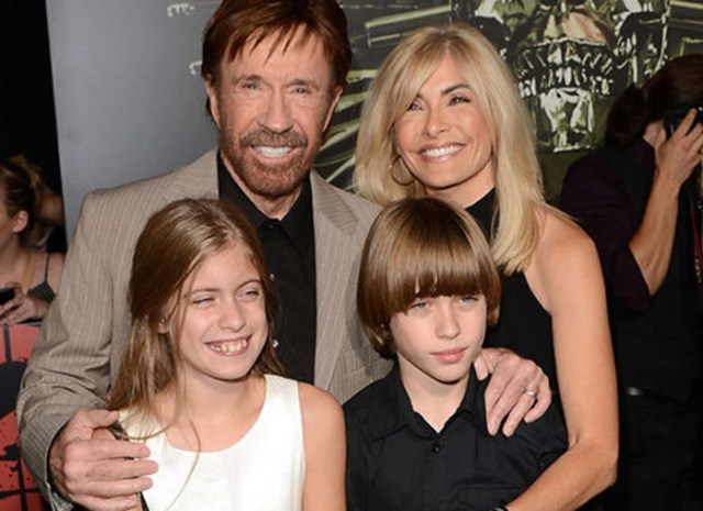 Chuck Norris hijos