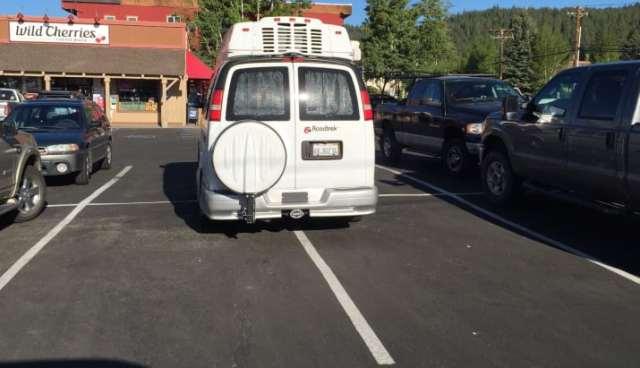 los que no se saben estacionar