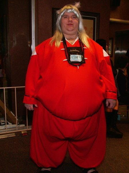 ImuYasha con sobrepeso