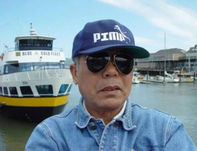 gorra que imita la marca Puma
