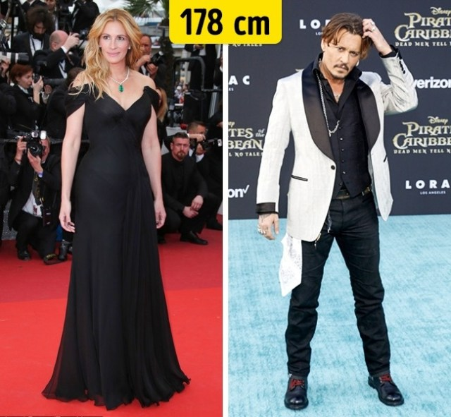 178cm Celebridades hollywood