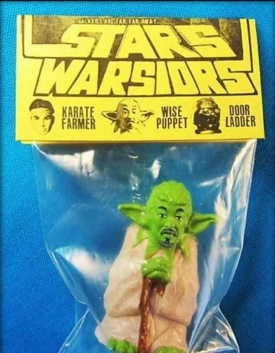 Pobre profesor Yoda