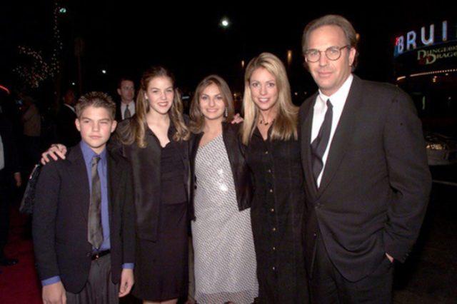 Kevin Costner hijos