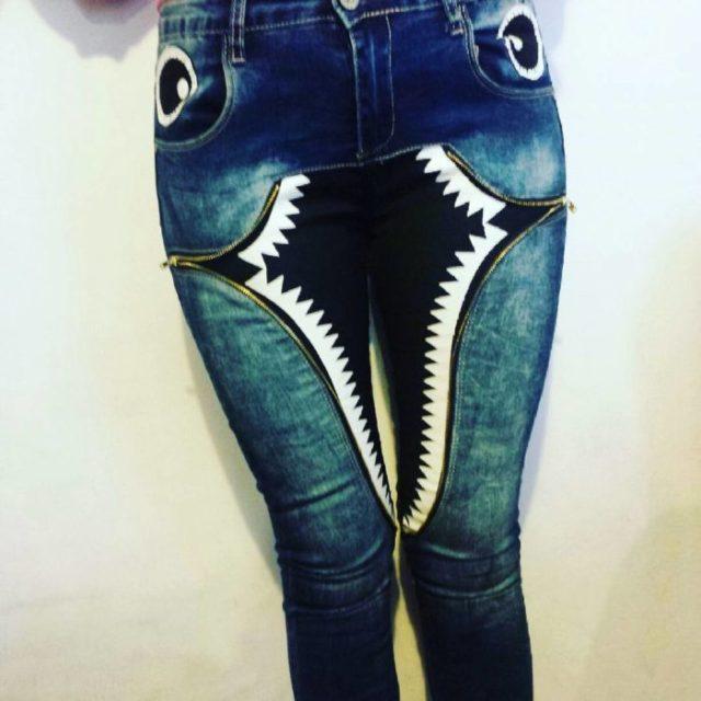 Este pantalón otorga miedo