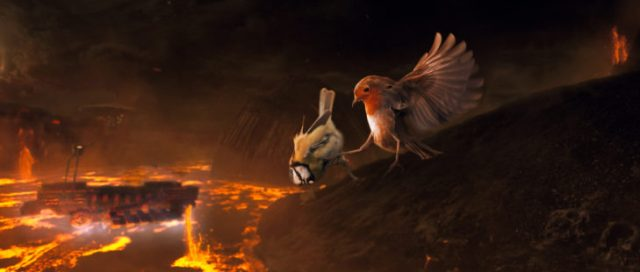 star wars pájaro anakin
