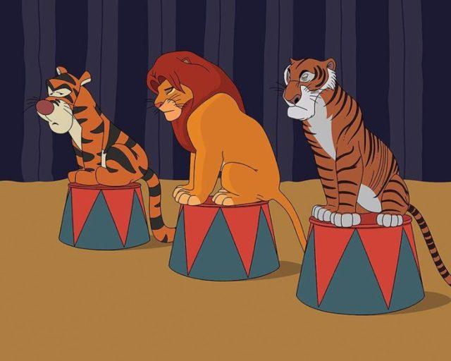 animales Disney 2017