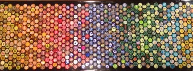 tapas de colores