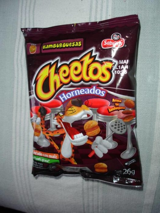 cheetos hamburguesa