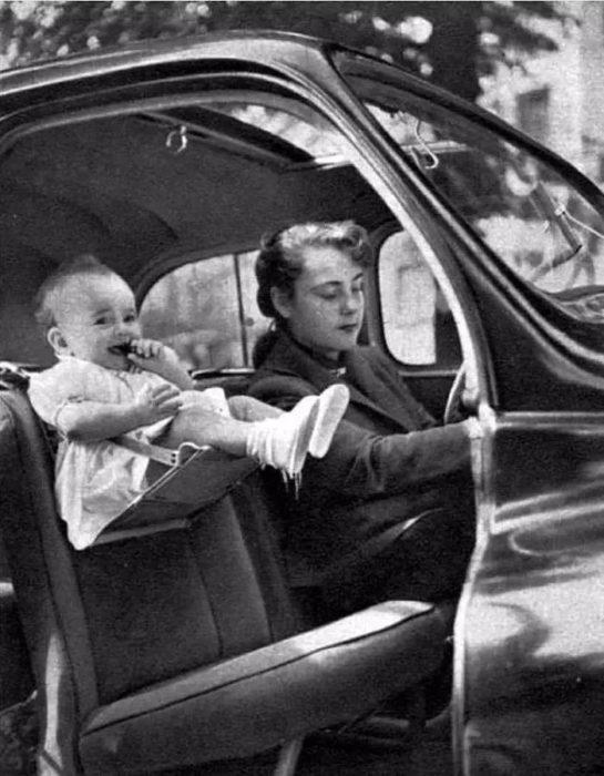 Primeros asientos de carro para pequeños