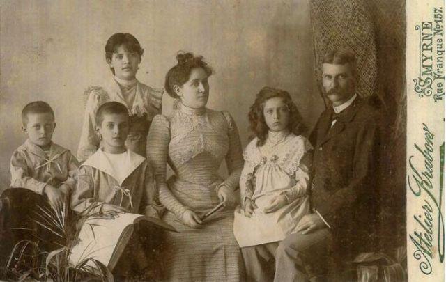 Retrato de familia antigua