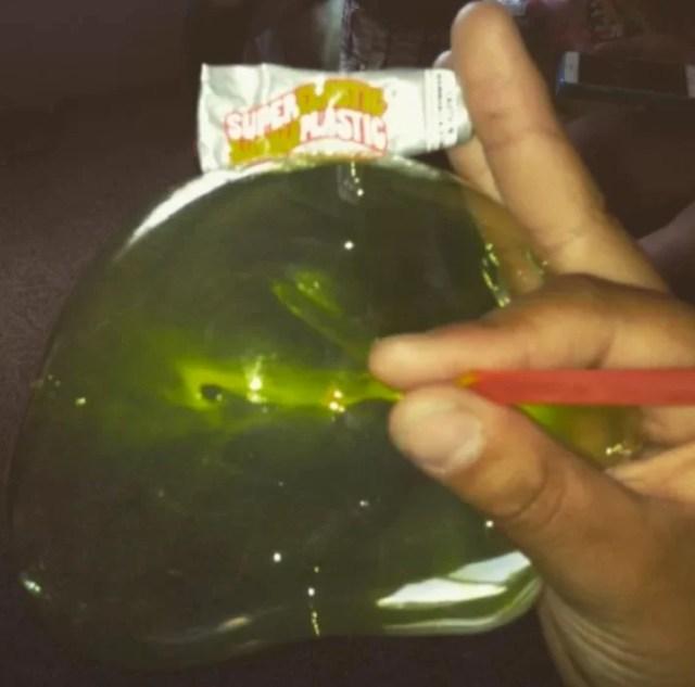 Burbuja verde gigante