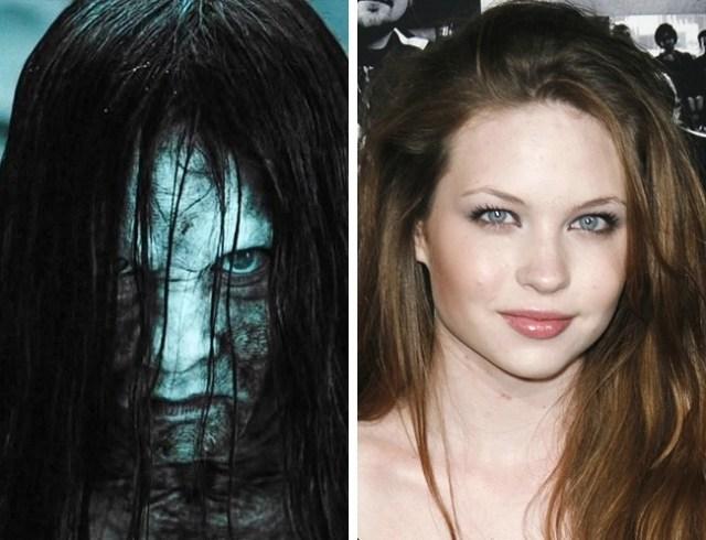 Antes y después pequeños películas de terror el aro