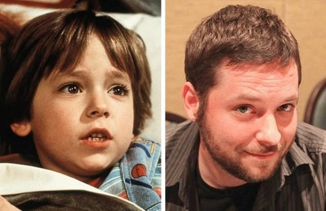 Antes y después pequeños películas de terror redrum