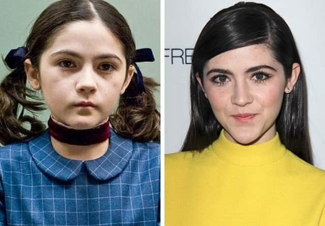 Antes y después pequeños películas de terror La huérfana