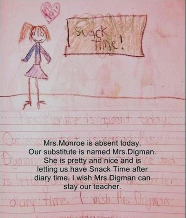 Diario de niña y amiga imaginaria en la ventana