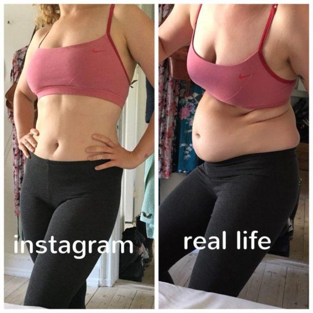 modelo instagram cuerpo