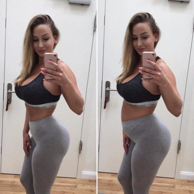 modelo fitness realidad