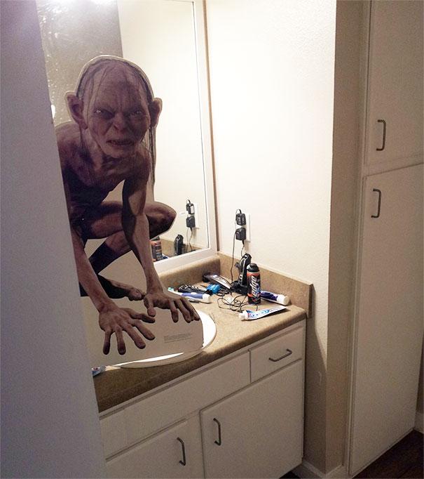 gollum baño