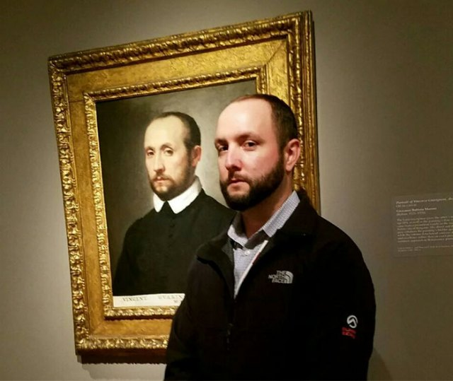 He descubierto mi doble en un museo