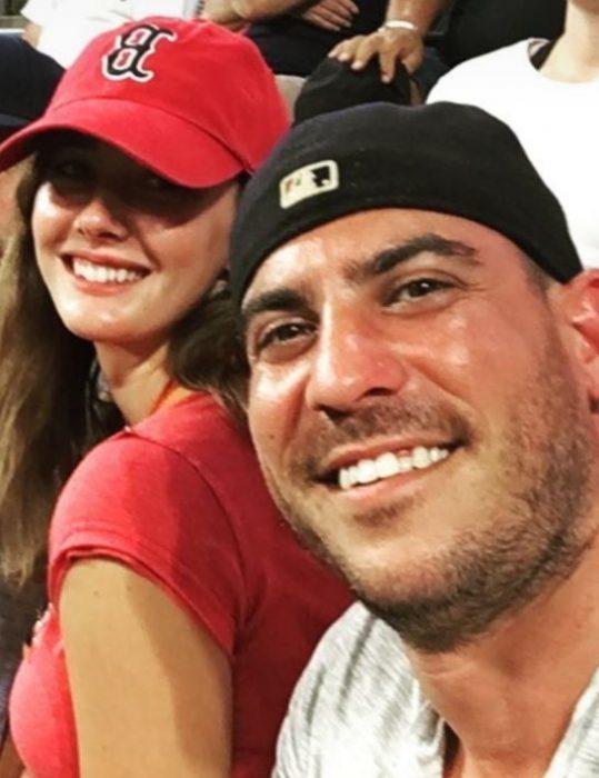 selfie esposos en partido
