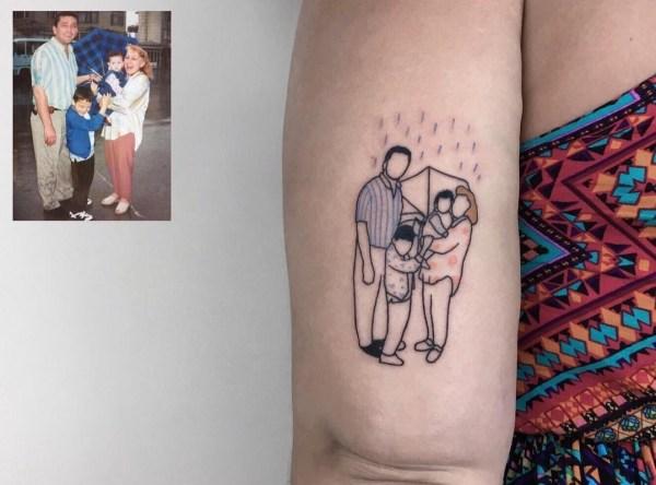 Artista Convierte Tus Recuerdos De La Infancia En Tatuajes