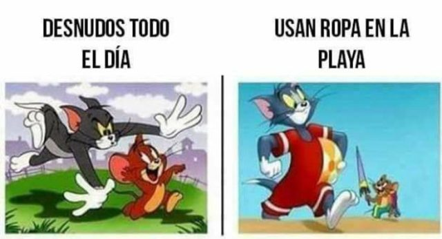 Tom y Jerry traje de baño