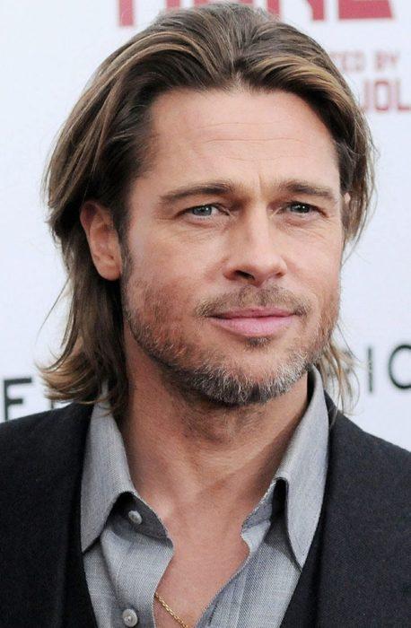 Brad Pitt no se baña