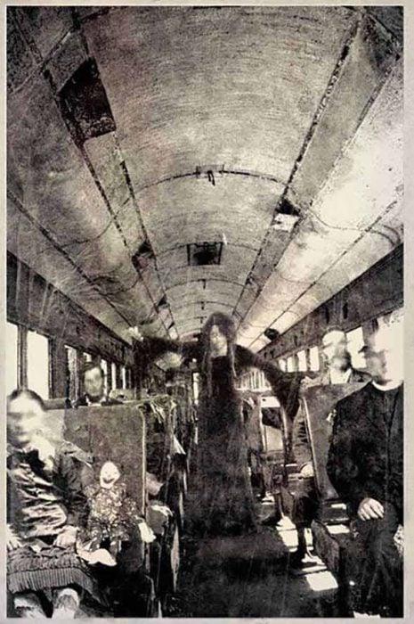 autobús espectro fotografías perturbadoras