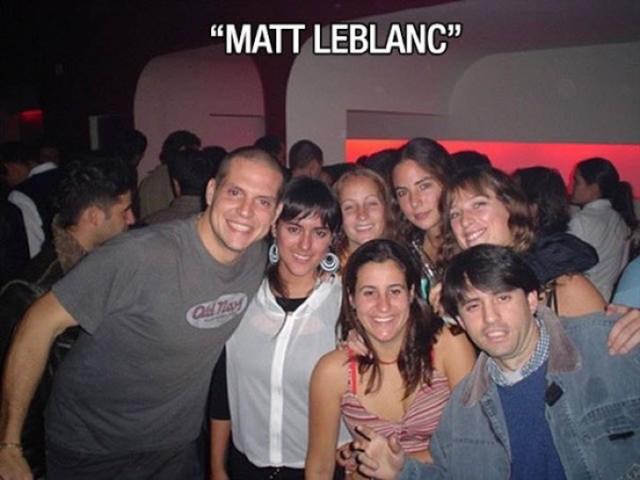 Se beben fotografía con Matt Leblanc