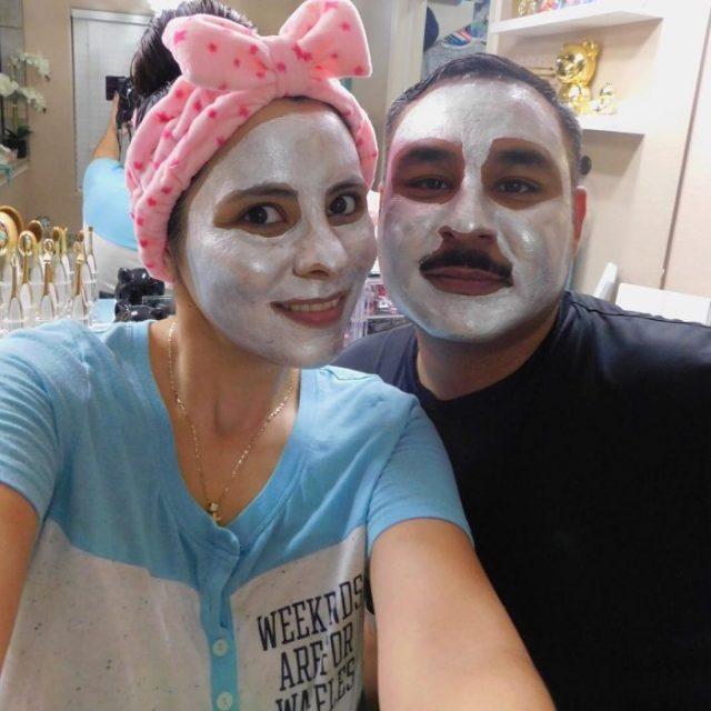 mascarillas esposos