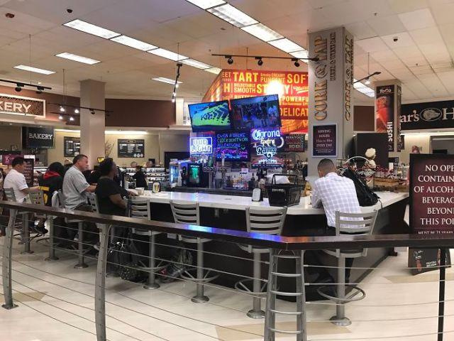 bar en super mercado