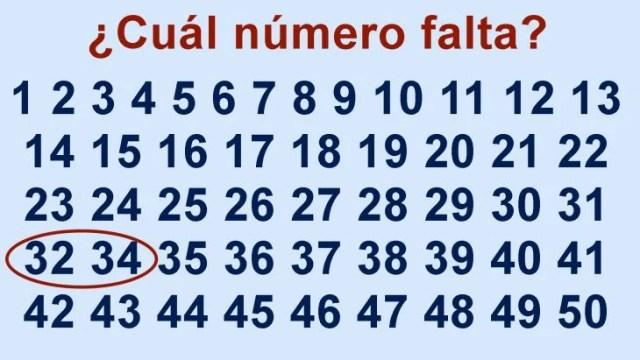 falta 33