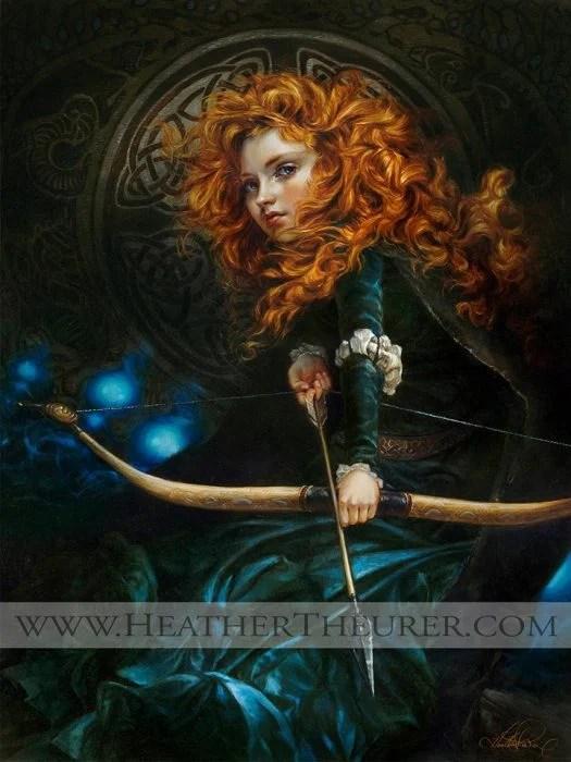 merida pintura heather
