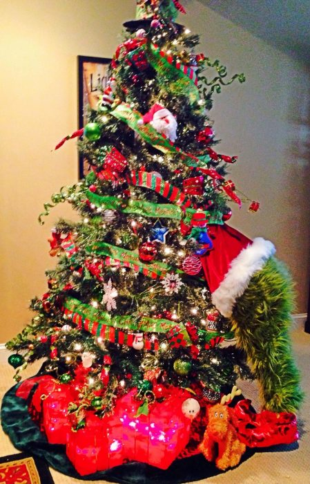 grinch árbol navidad