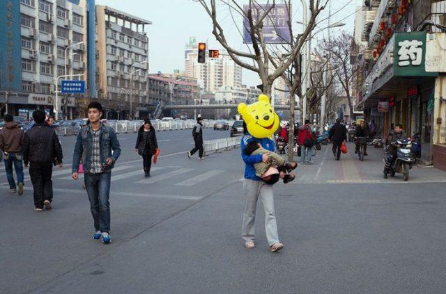 winnie fotografía china