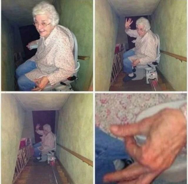 La abuela te desea decir algo