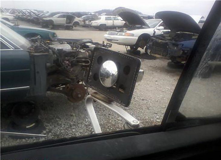 fail reparación de espejo de coche