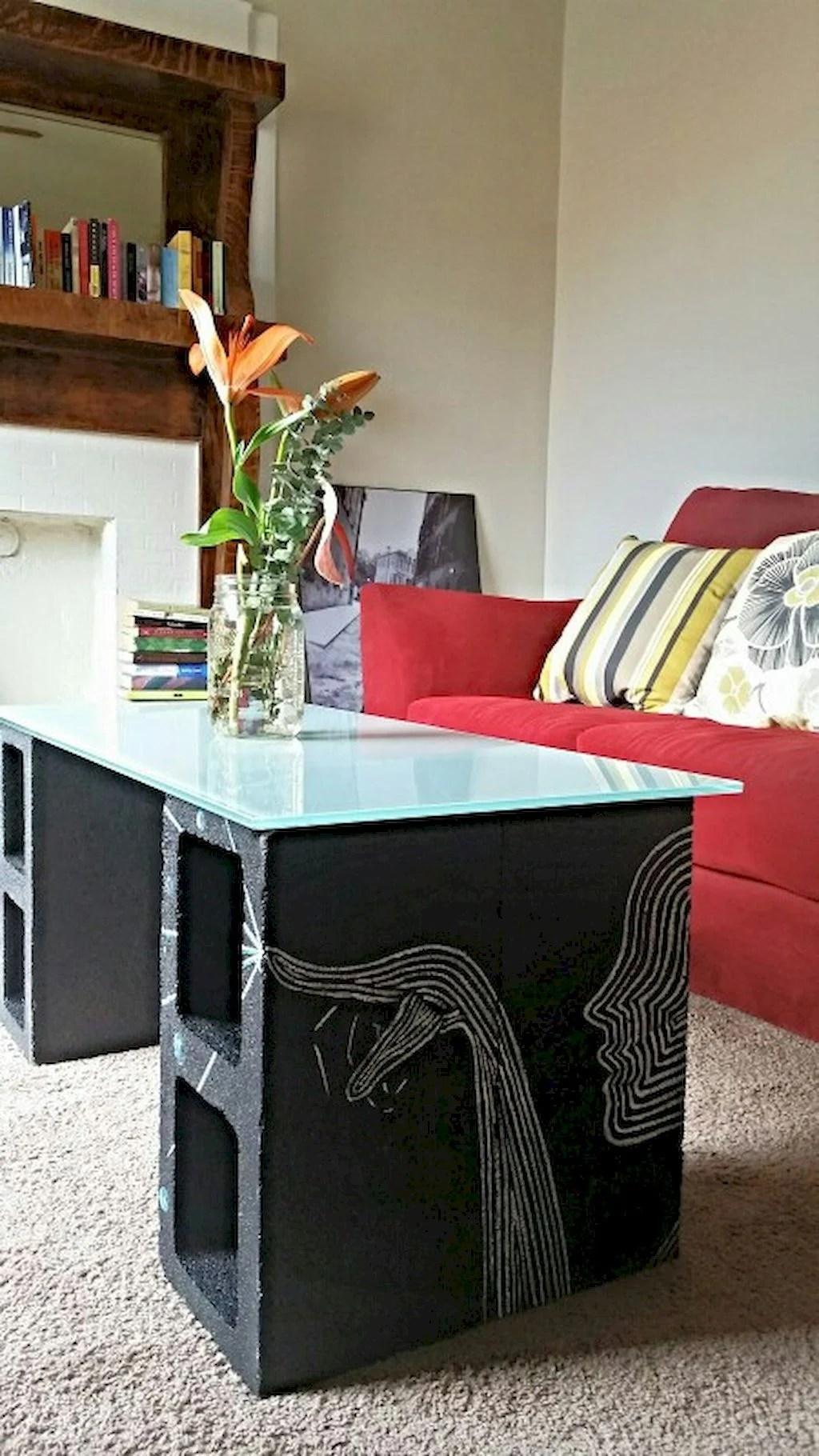 15 Ideas para decorar tu casa usando bloques de cemento